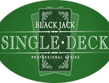 Слот Single Deck Blackjack Professional Series